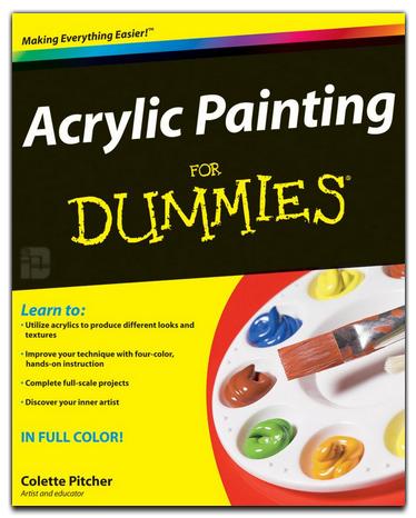 دانلود کتاب نقاشی اکريليک برای مبتدیان Acrylic Painting
