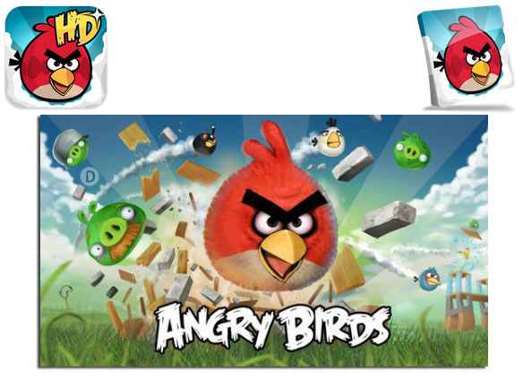 دانلود نسخه نهایی بازی کم حجم و معروف پرندگان خشمگین Angry Birds 1.6.3.1