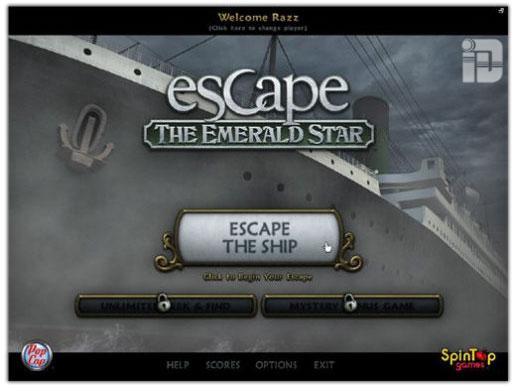 دانلود بازی کم حجم فرار از ستارگان زمردین Escape The Emerald Star Final 2011