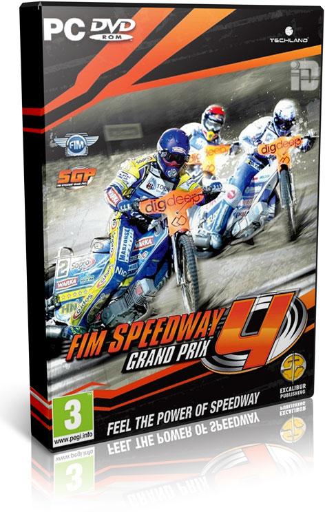 دانلود بازی جدید مسابقات حرفه ای موتورسواری FIM Speedway Grand Prix 4