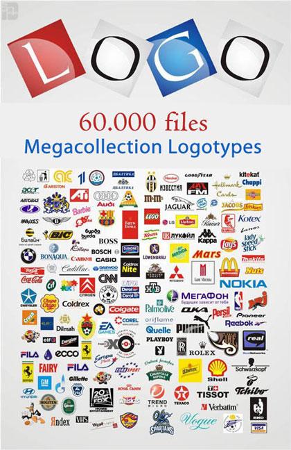 مجموعه ای فوق العاده از 60000 لوگوی وکتور برای طراحان و گرافیست ها ...مجموعه ای فوق العاده از 60000 لوگوی وکتور برای طراحان و گرافیست ها