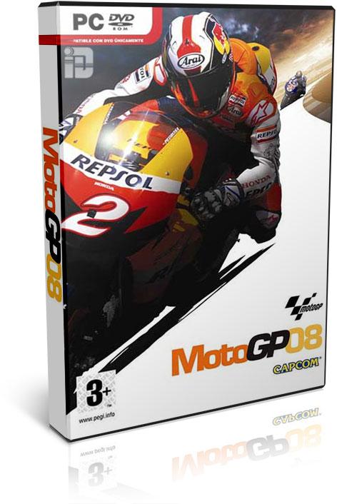 دانلود بازی MotoGP 08 برای PC با لینک مستقیم و به صورت کاملا رایگان