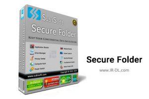 دانلود نرم افزار Secure Folder v8.2.0