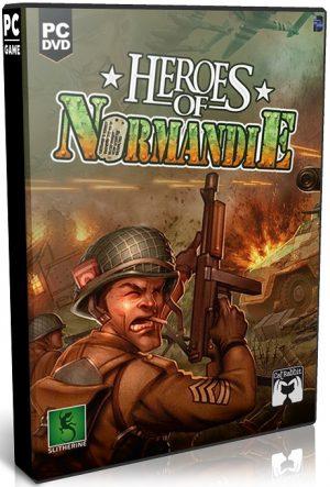 دانلود بازی استراتژی Heroes of Normandie Bulletproof Edition برای PC