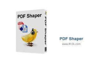 دانلود نرم افزار تبدیل پی دی اف به ورد PDF Shaper 7.0
