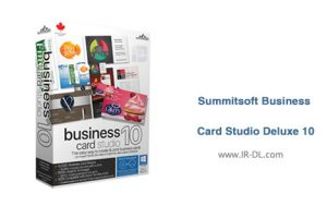 Summitsoft Business Card Studio Deluxe 10 - دانلود Summitsoft Business Card Studio Deluxe 10 با لینک مستقیم و به صورت رایگان
