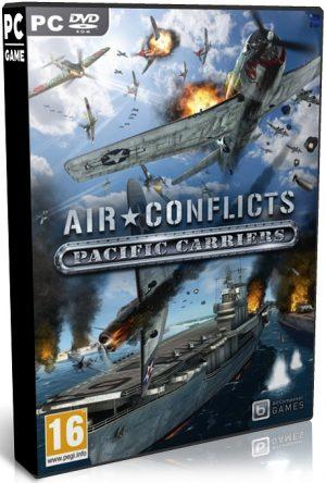 دانلود بازی اکشن و شبیه سازی Air Conflicts Pacific Carriers برای PC با لینک مستقیم