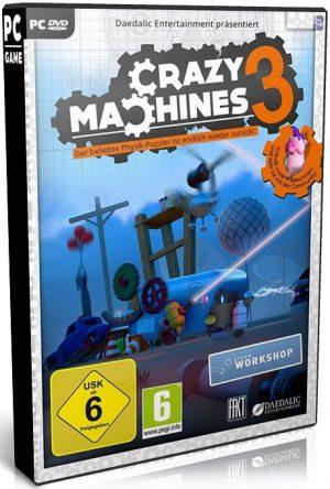 دانلود بازی شبیه سازی و استراتژی Crazy Machines 3 برای PC با لینک مستقیم