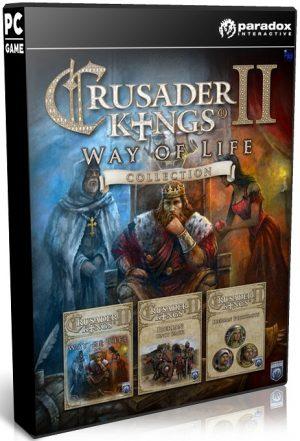 دانلود بازی شبیه سازی و استراتژی Crusader Kings II Monks and Mystics برای PC