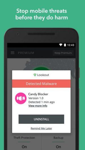 دانلود آنتی ویروس Lookout Security & Antivirus 10.11 برای اندروید