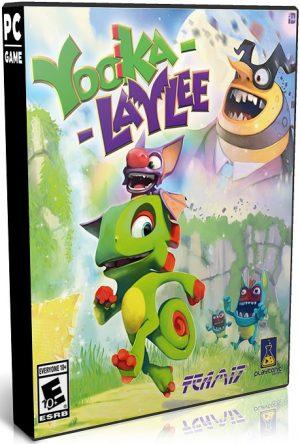 دانلود بازی اکشن و ماجرایی Yooka Laylee برای PC با لینک مستقیم (نسخه SKIDROW)