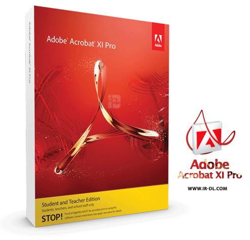 Adobe Acrobat XI Pro 11.0.22 دانلود نرم افزار ساخت و مدیریت PDF