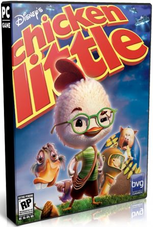 دانلود بازی اکشن و ماجرایی Disneys Chicken Little برای PC با لینک مستقیم
