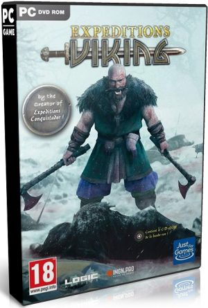 دانلود بازی نقش آفرینی و استراتژی Expeditions Viking برای PC با لینک مستقیم