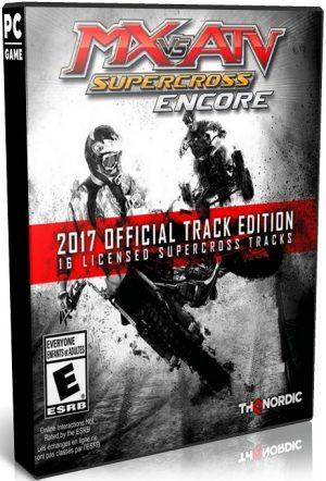 دانلود بازی MX vs ATV Supercross Encore 2017 Official Supercross Pack