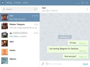 دانلود مسنجرقدرتمند و محبوب تلگرام نسخه ویندوز Telegram for windows