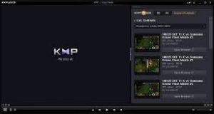 The KMPlayer نرم افزار پخش کننده حرفه ای مالتی مدیا کی ام پلیر. ایرانیان دانلود