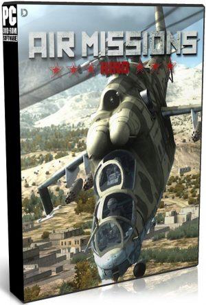 دانلود بازی اکشن و شبیه سازی Air Missions HIND برای PC با لینک مستقیم