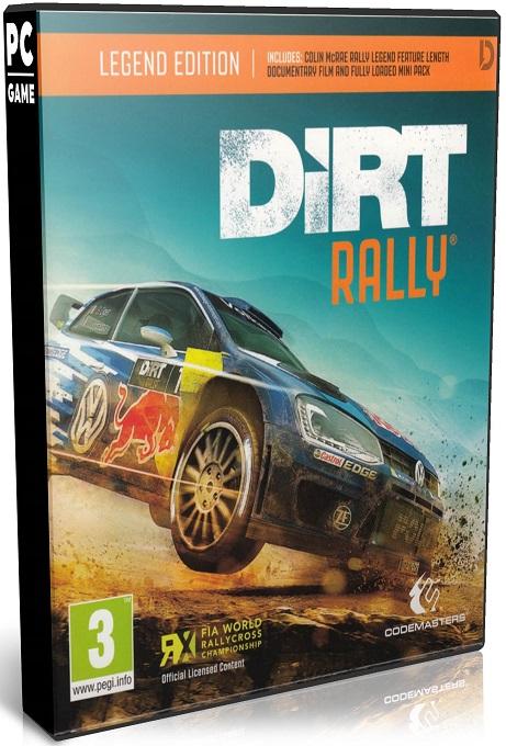 دانلود بازی مسابقه ای و شبیه سازی DiRT 4 برای PC با لینک مستقیم (نسخه RELOADED)