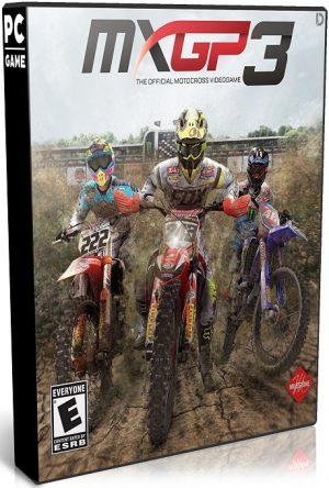 دانلود بازی مسابقه ای MXGP3 The Official Motocross Videogame برای PC