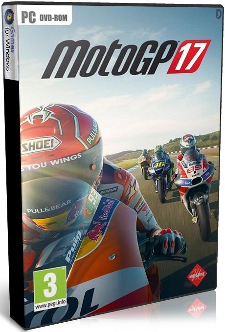 دانلود بازی مسابقه ای و شبیه سازی MotoGP 17 برای PC با لینک مستقیم (نسخه CODEX)