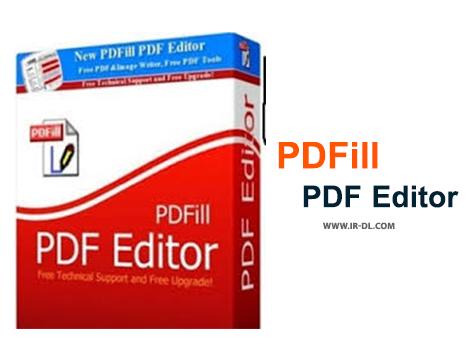 دانلود نرم افزار قدرتمند پرکردن و ویرایش فرم های پی دی اف PDFill PDF Editor