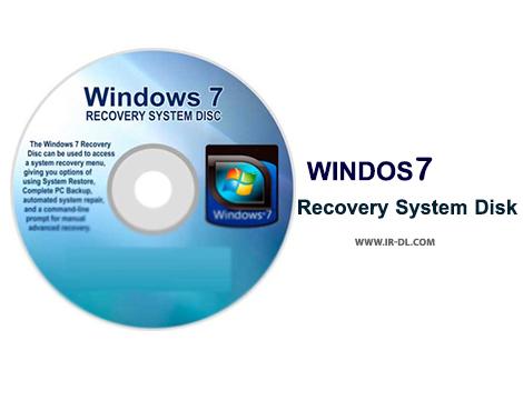 دانلود Windows 7 System Recovery Disc نرم افزارتعمیر بکاپ گیری و ریستور ویندوز7