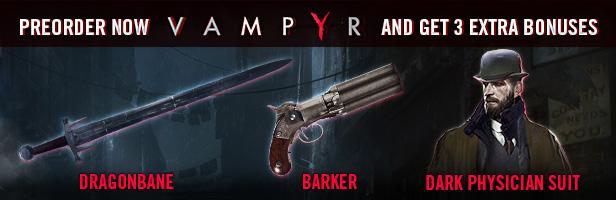 دانلود بازی اکشن و نقش آفرینی Vampyr برای PC با لینک مستقیم و به صورت کاملا رایگان