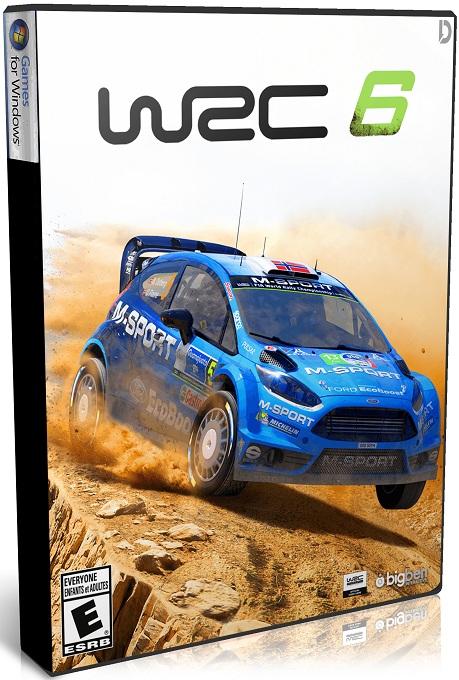 دانلود بازی مسابقه ای WRC 6 FIA World Rally Championship برای PC