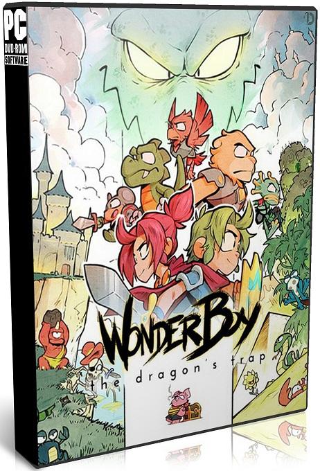 دانلود بازی Wonder Boy The Dragons Trap برای PC با لینک مستقیم