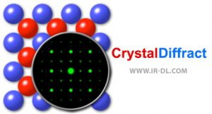 دانلود نرم افزار CrystalDiffract شبیه سازی ساختار مولکولی برای ویندوز