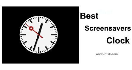 دانلود Best Screensavers Clock کلکسیونی از اسکرین سیورهای زیبای ساعت