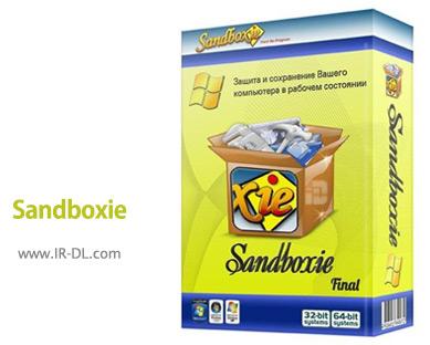 Sandboxie 5.20 مرور امن وب ، و استفاده ایمن از برنامه ها. دانلود از ایرانیان دانلود