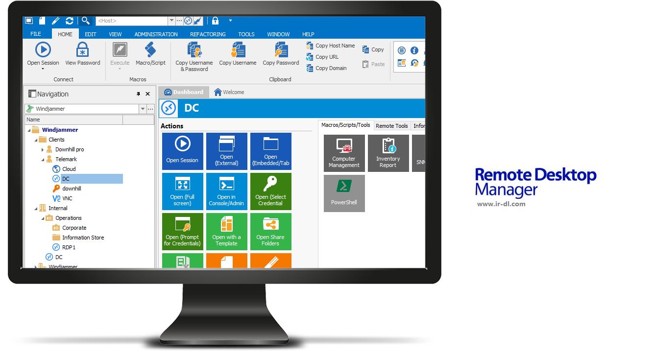 Remote Desktop Manager Enterprise 12.6.1.0 مدیریت ریموت دسکتاپ. ایرانیان دانلود