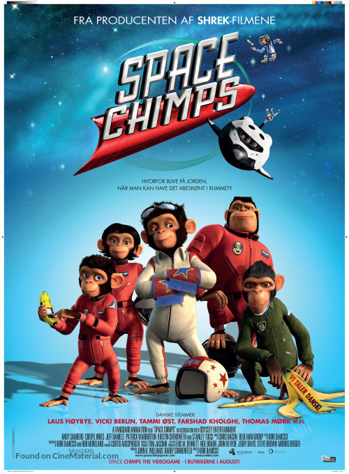 Space Chimps - دانلود انیمیشن زیبای Space Chimps دوبله فارسی با لینک مستقیم