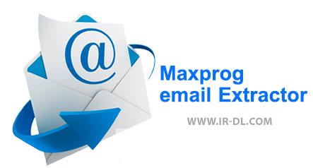 دانلودMaxprog email Extractor نرم افزار قدرتمند جهت پیدا کردن آدرس ایمیل