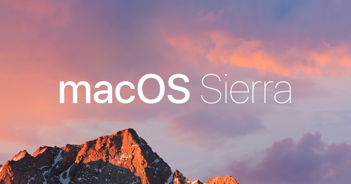 MacOS Sierra سیستم عامل جدید اپل. MacOS Sierra را از ایرانیان دانلود دریافت کنید