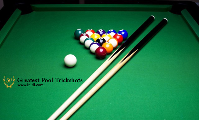 دانلود مستند 50Greatest Pool Trickshots با لینک مستقیم و به صورت کاملا رایگان