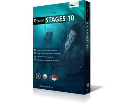 AquaSoft Stages 10.5.04 نرم افزار ویرایش انواع فایل مولتی مدیا. ایرانیان دانلود