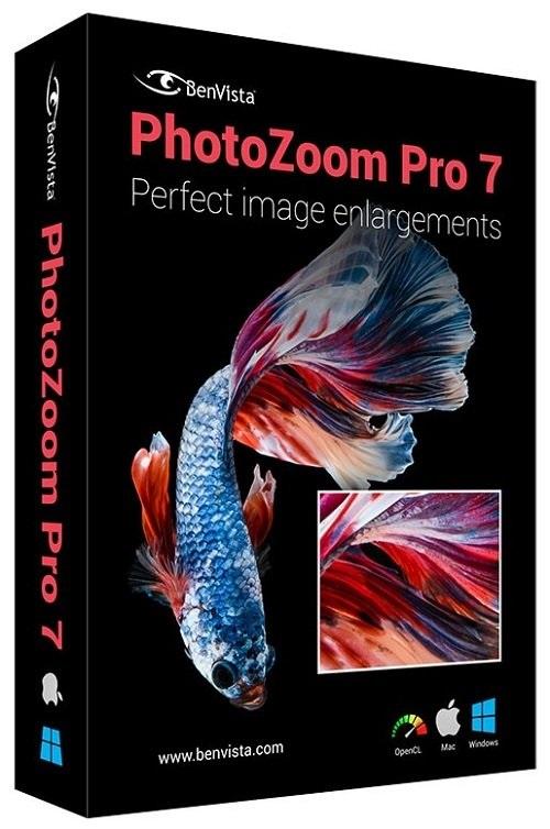 PhotoZoom Pro 7.0.8 نرم افزار زوم با کیفیت بر روی تصاویر. دانلود PhotoZoom Pro 7