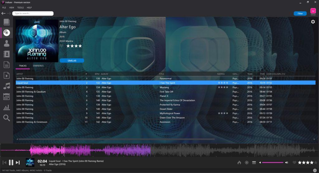 Helium Music Manager 12.4 Build 14760 Premium پخش کننده موسیقی هلیوم