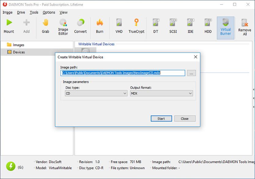 DAEMON Tools Pro Advanced 8.1.0.0654 نرم افزار ساخت درایو مجازی