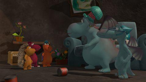 دانلود انیمیشن زیبای Coconut the Little Dragon - دانلود انیمیشن زیبای Coconut the Little Dragon