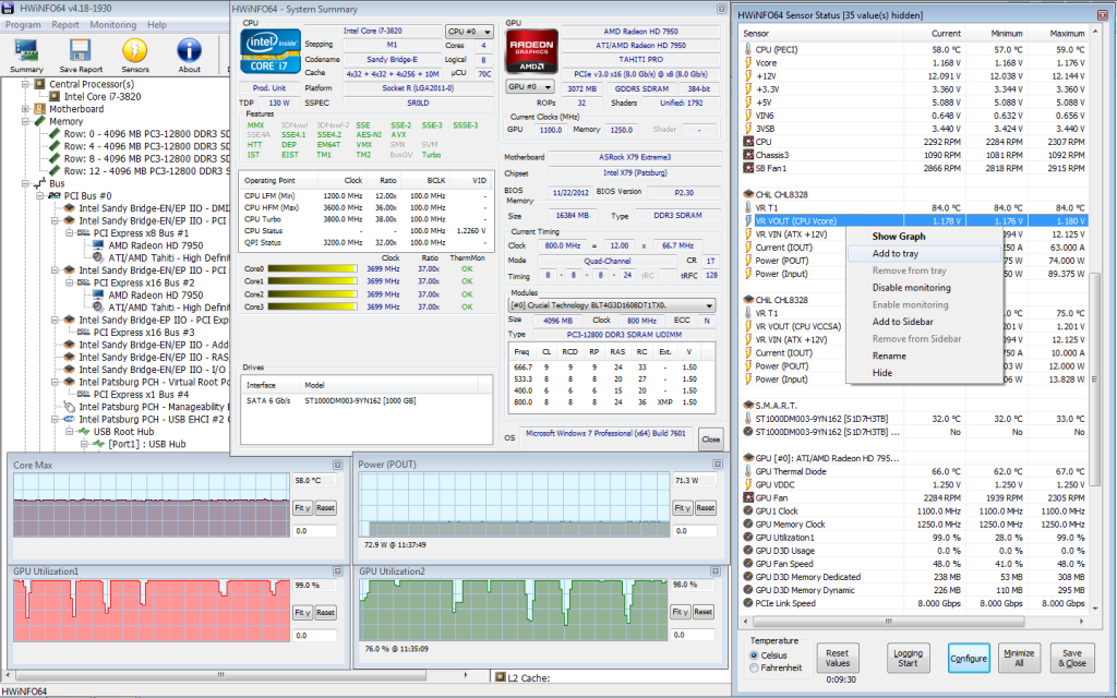 HWiNFO 5.56 Build 3230 نرم افزار مشاهده اطلاعات سیستم. دانلود رایگان از ایرانیان دانلود