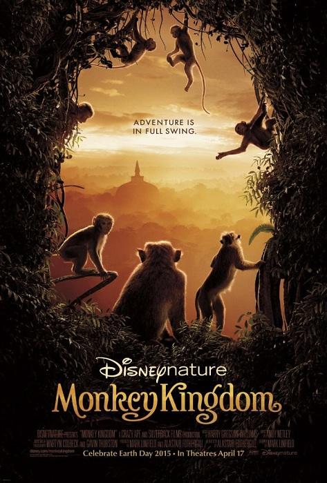 دانلود مستند قلمرو میمون ها - Monkey Kingdom 2015 دوبله فارسی و با لینک مستقیم