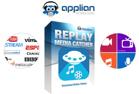 Replay Media Catcher 7.0.0.17 ذخیره ویدیو های آنلاین وب در سیستم. دانلود از ایرانیان دانلود