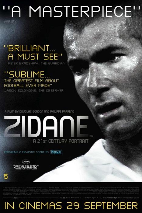 دانلود مستند Zidane A 21st Century Portrait 2006 با لینک مستقیم