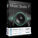 Ashampoo Music Studio 7.0.0.29 نرم افزار ویرایش و مدیریت فایل های صوتی