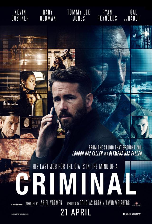 Criminal - دانلود فیلم خارجی Criminal جنایتکار دوبله فارسی با لینک مستقیم