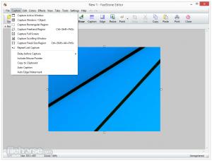 FastStone Capture 8.6 نرم افزار تصویر برداری آسان از محیط ویندوز. دانلود رایگان